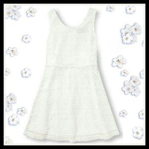 New Children's Place laser cut out lace dress!